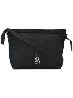 сумка на плечо с вышивкой Ann Demeulemeester