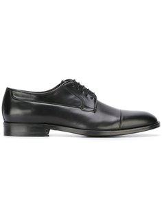 туфли дерби на шнуровке Canali