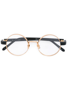 round frame glasses  Linda Farrow