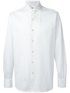 рубашка с узором Canali