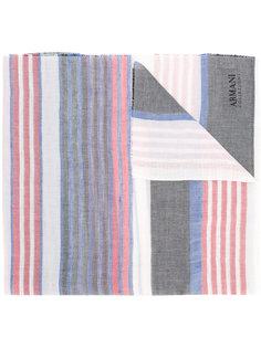 шарф в полоску Armani Collezioni