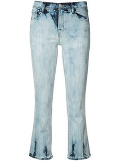flared cropped jeans J Brand
