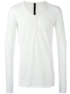 button up collar T-shirt Poème Bohémien