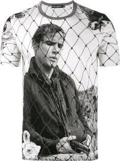 футболка с принтом Марлона Брандо Dolce & Gabbana