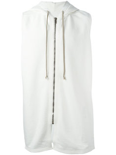 zip up sleeveless hoodie  Rick Owens DRKSHDW