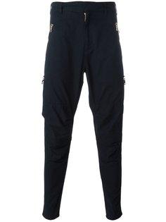 зауженные брюки Balmain