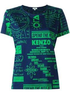 футболка Flyers  Kenzo