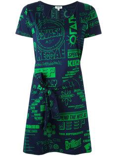 платье-футболка Flyers  Kenzo