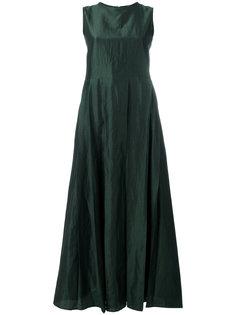плиссированное длинное платье Max Mara