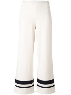 полосатые укороченные брюки Max Mara