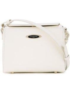 маленькая квадратная сумка на плечо  Lanvin