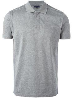футболка-поло с простроченной отделкой Lanvin