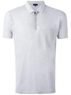 футболка-поло с узким карманом Lanvin