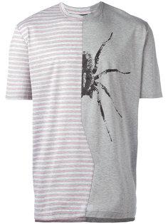 полосатая футболка с пауком Lanvin