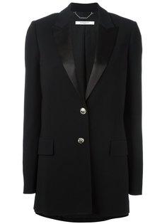удлиненный пиджак с заостренными лацканами Givenchy