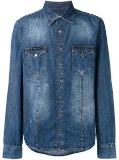 джинсовая рубашка My Tiger  Philipp Plein