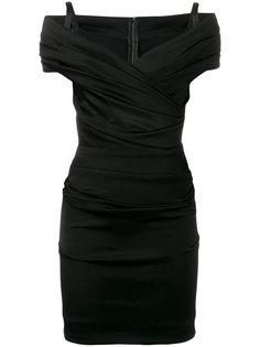 платье мини с открытыми плечами Dolce & Gabbana