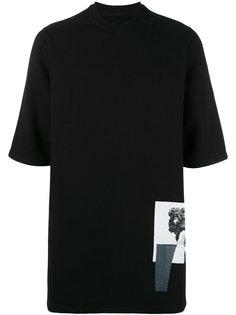футболка Jumbo с нашивкой Rick Owens DRKSHDW