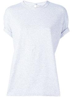 однотонная футболка Brunello Cucinelli