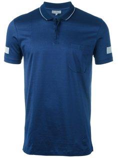 футболка-поло с полосками на рукавах Lanvin