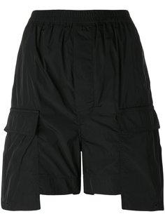 шорты свободного кроя Rick Owens