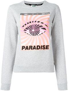 "толстовка ""Eye x Paradise"" Kenzo"