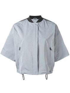 укороченная куртка с короткими рукавами Brunello Cucinelli