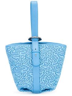 сумка-тоут с вышивкой Ermanno Scervino