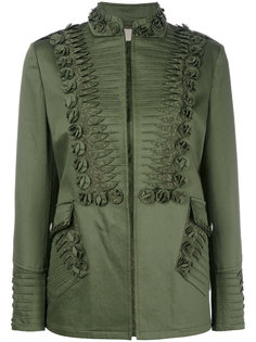 куртка с вышивкой Ermanno Scervino