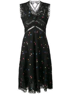 расклешенное платье  Ermanno Scervino