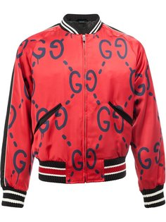 куртка-бомбер Gucci Ghost  Gucci