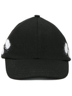бейсбольная кепка с принтом краски Off-White