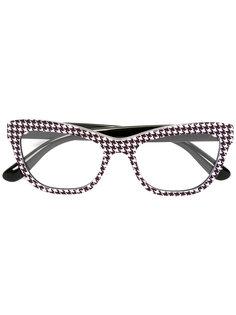 "очки в оправе ""кошачий глаз"" Dolce & Gabbana"
