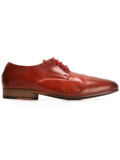 ботинки Дерби с закругленным носком Marsèll