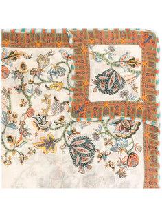 платок с цветочным узором Etro