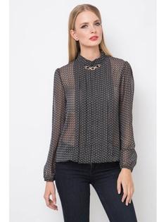 683ad4311d8 Купить женские блузки с длинным рукавом с драпировкой в интернет ...