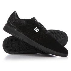 Кеды кроссовки низкие DC New Jack S Black/Gold