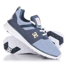 Кроссовки женские DC Heahtrow Se J Shoe Nwh Navy/White