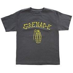 Футболка детская Grenade Bones Charcoal