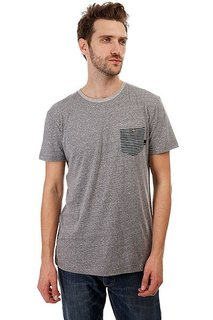 Футболка Quiksilver Hombrejackson Medium Grey Heather
