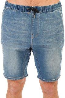 Шорты джинсовые Quiksilver Fonicdenflshblu Blur