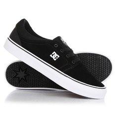 Кеды кроссовки низкие DC Trase S Black/White