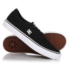 Кеды кроссовки низкие детские DC Trase Tx Black/White