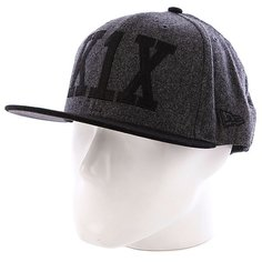 Бейсболка New Era K1X Simple Type Wool 59/50 NewEra Black Heather