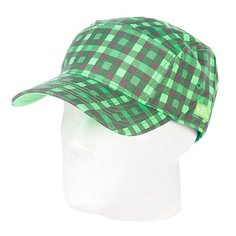 Бейсболка пятипанелька K1X 5 Panel Cap Apple Green/Neon Green/Castle Grey