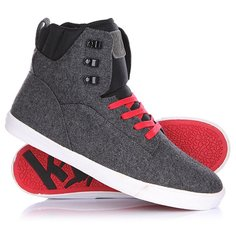 Кеды кроссовки Высокие K1X State Te Wool/Red