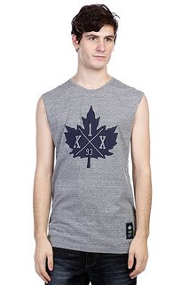 Футболка K1X Core Leaf Sleeveless Tee Grey Heather/Navy