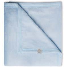 Байковый плед 100х150 см, Jollein, Light blue