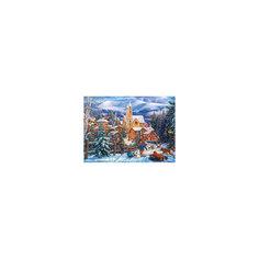 """Пазл """"Снежная горка в городе"""", 300 деталей, Castorland"""