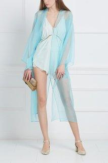 Шелковый халат «Колибри» Esve